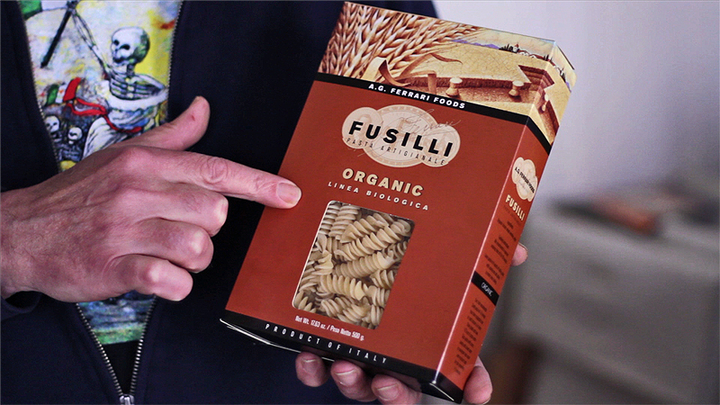 AG Ferrari Fusilli Italian pasta