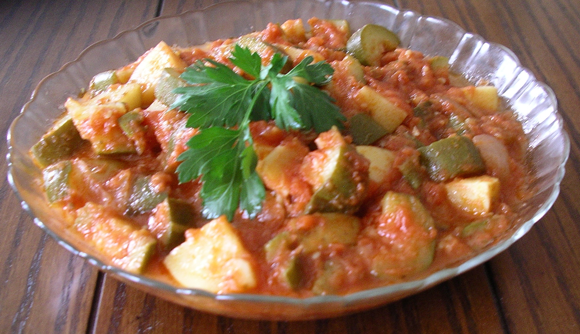 Vegetable stew with zucchini and potatoes 40