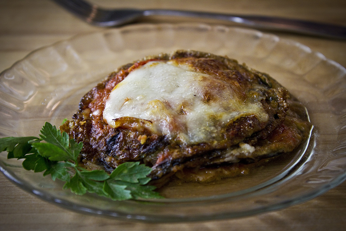 kitchen boss eggplant caponata%0A My Favorite Dish  u     Eggplant Parmigiana