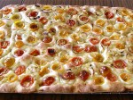Cherry Tomato & Young Onion Focaccia