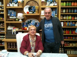Lidia Bastianich and Gianni