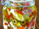Vegetables in a White Wine Vinegar EVOO Marinade