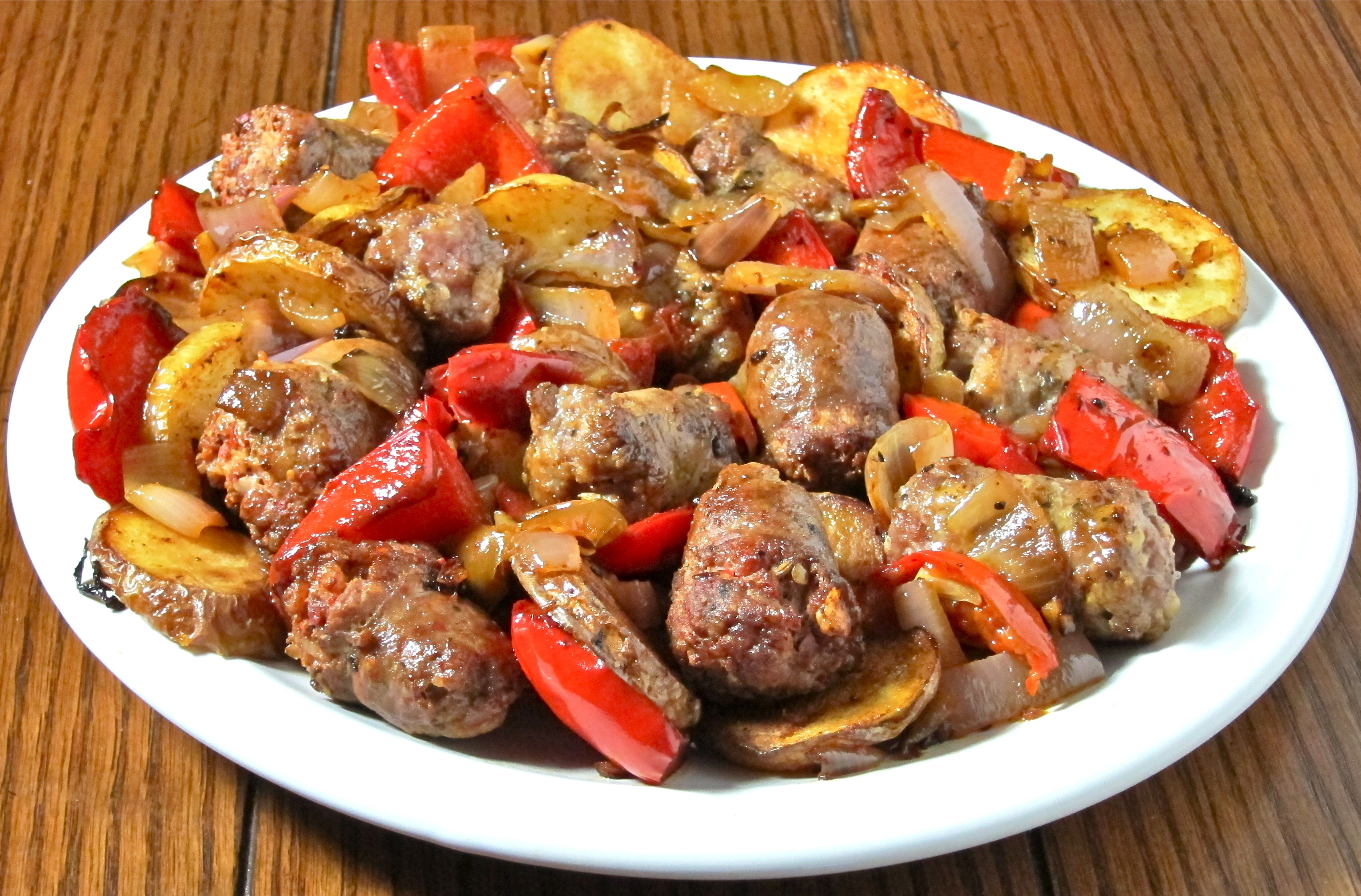 recipe: what to serve with sausage and peppers [11]
