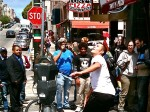 Pizza Tossing in North Beach