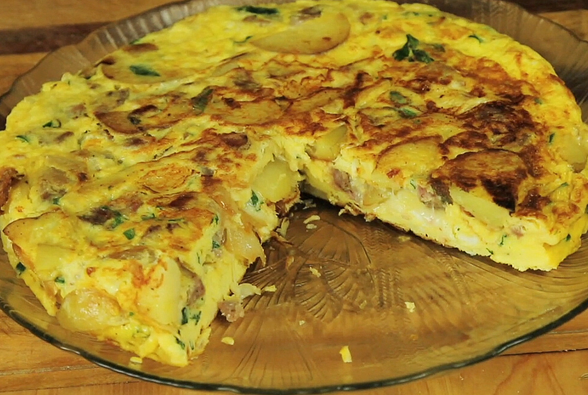 Frittata Italian egg pie recipe - Gianni's North Beach cooking video