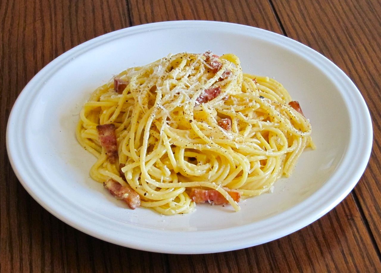 Spaghetti Alla Carbonara Recipe — Dishmaps
