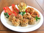 Baked Stuffed Mushrooms & Friends