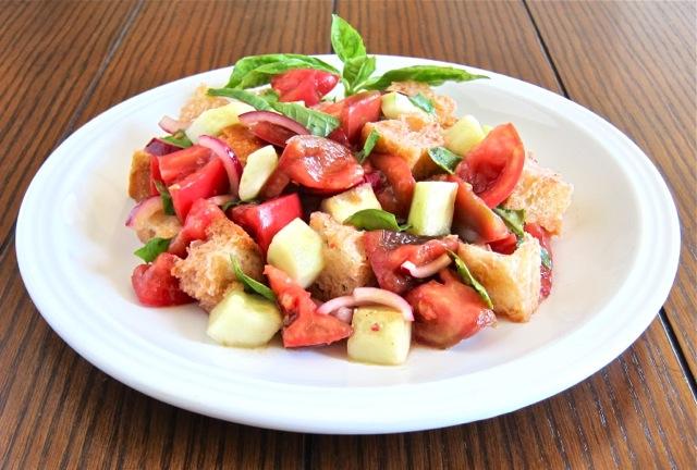 Panzanella (Summer Tomato & Bread Salad) | Gianni's North Beach