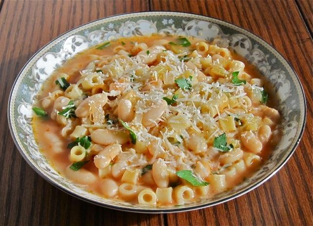 Pasta Fagioli (Pasta And Beans) Recipes — Dishmaps