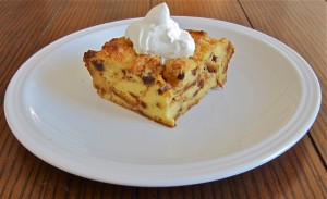 Easy to make Panettone Bread Pudding