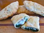 Spinach Pies from Naples via Providence RI