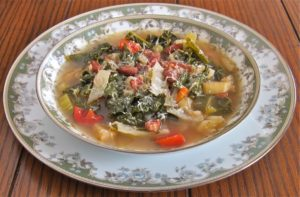 A hearty & healthy vegetable soup