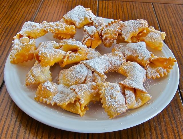 Crispy Bow Ties Wandi Cenci Holiday Cookie Recipe