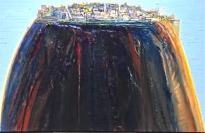 Wayne Thiebaud's Laguna Rising