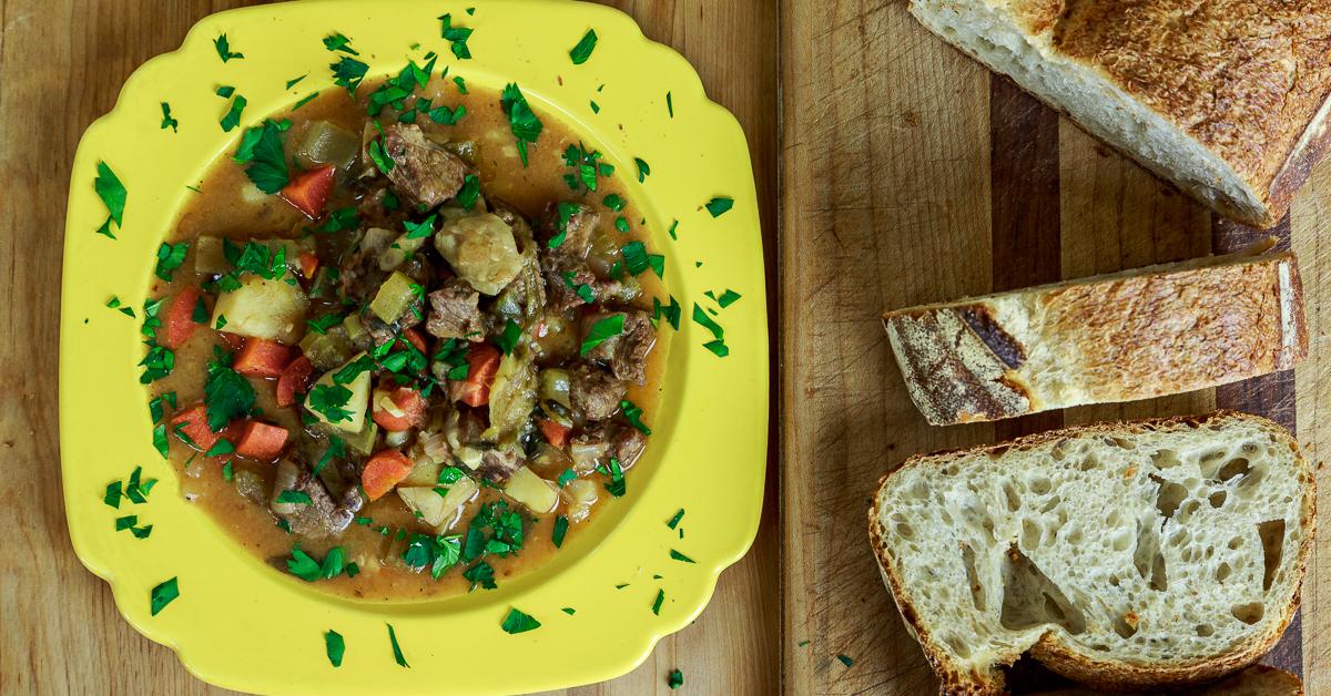 Stufato di Manzo: Italian Beef & Vegetable Stew | Gianni's North Beach
