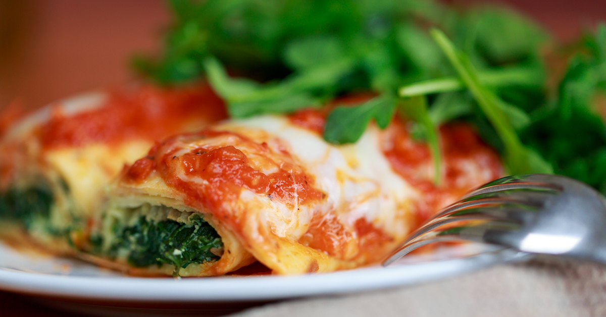 and spinach cannelloni spinach feta cannelloni spinach and ricotta ...