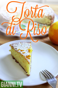 Torta di riso for Lent, by Gianni.tv