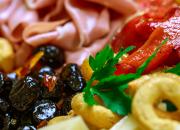Italian salumi and cheeses are the stars of this antipasti platter